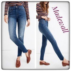 """NWT ~ MADEWELL 10""""  High-rise Skinny Skinny Jeans"""